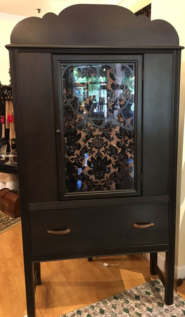Lee Lee s Valise Depression Era  China Closet with Glass Door - Lee ... d3f922944