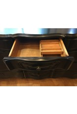 Lee Lee's Valise Twelve Drawers with details and original hardware