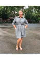 Lee Lee's Valise Mia Bella Shirt Dress in Chambray