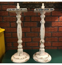 Lee Lee's Valise Set of Two ChabbyChic Necklace Stands