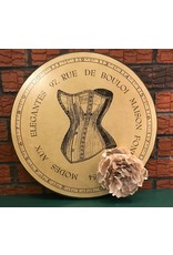 Lee Lee's Valise Wall Plaque w Floral Accent