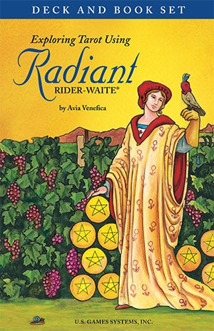 Exploring Tarot Using Radiant Rider-Waite Deck and Book Set