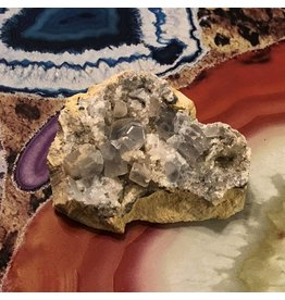 Celestite Crystal Cluster