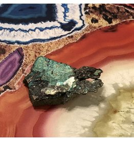 Copper Chrysocolla Calcite