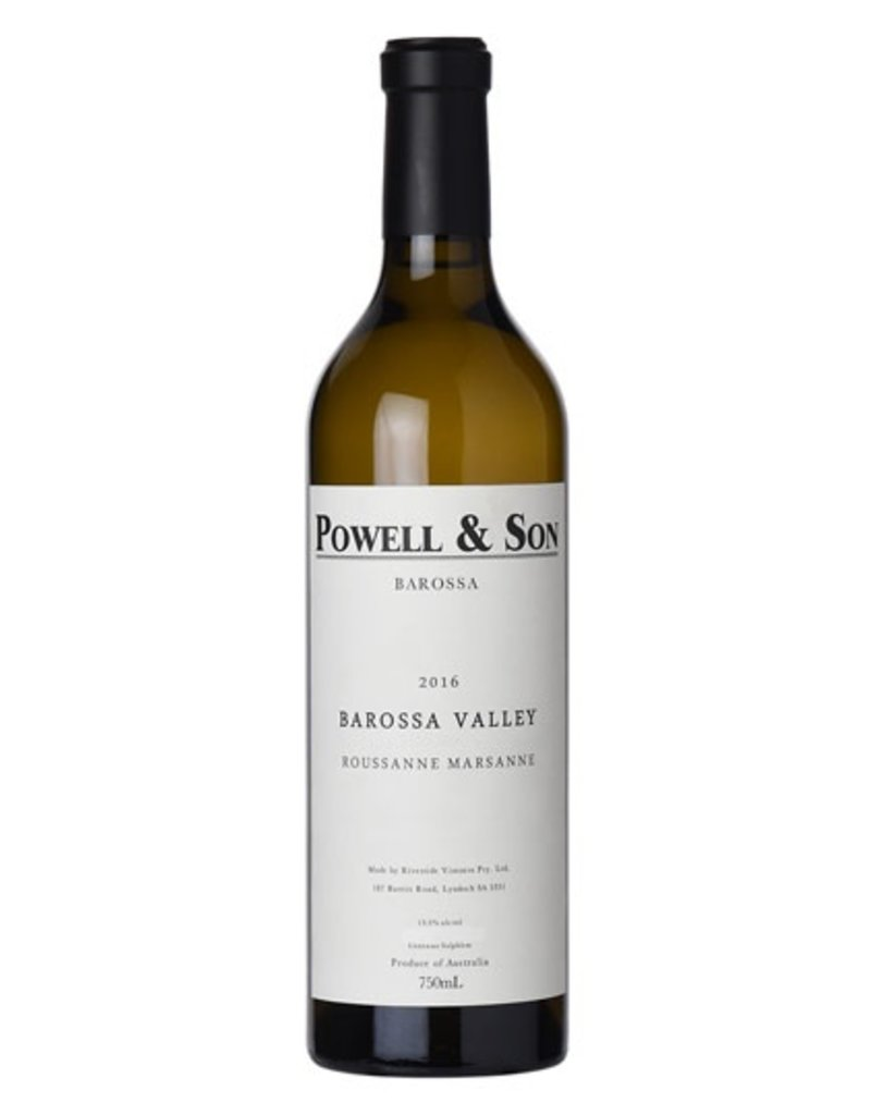 Roussanne/Marsanne, Powell & Sons, Barossa Valley, AU, 2016