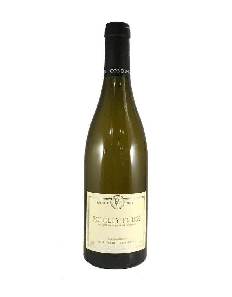 Pouilly-Fuisse, Domaine Cordier Pere & Fils, Maconnais, FR, 2014