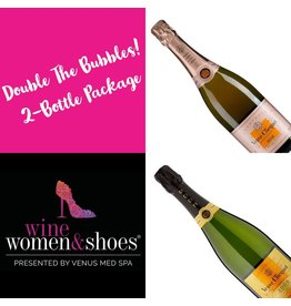 Double the Bubbles, Wine Women & Shoes, 2018