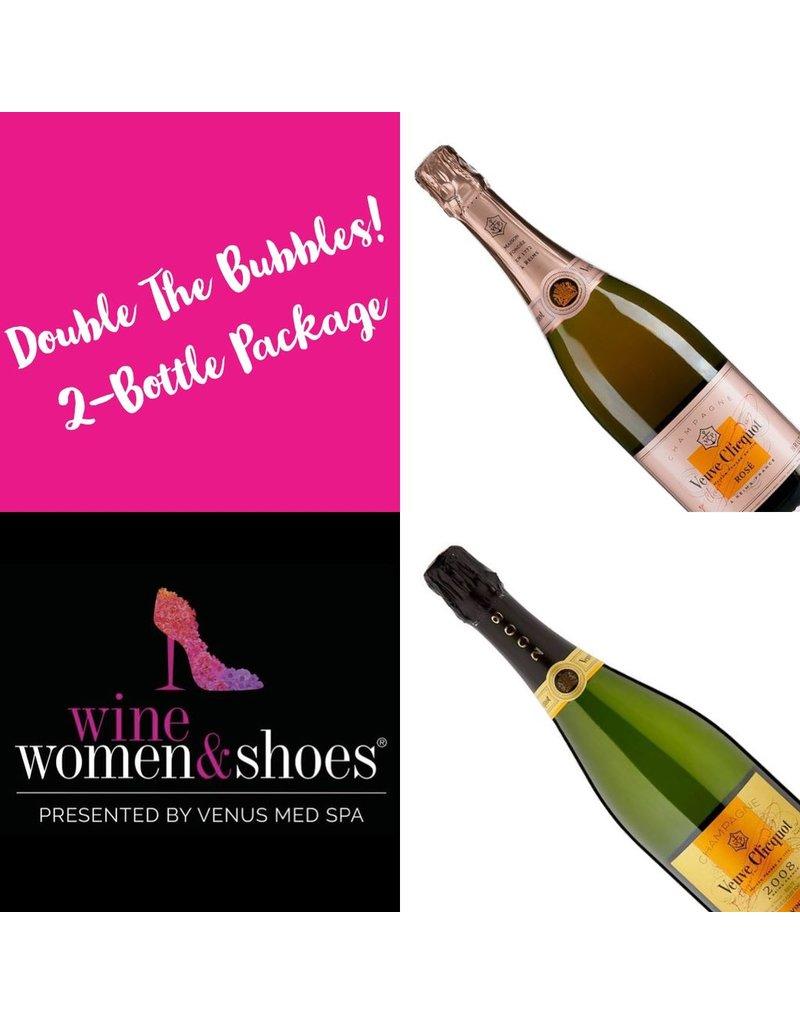 Double the Bubbles, Wine Women & Shoes, 2018