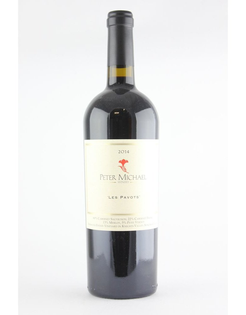 """Red Blend """"Les Pavots"""", Peter Michael, Knight's Valley, CA, 2014"""