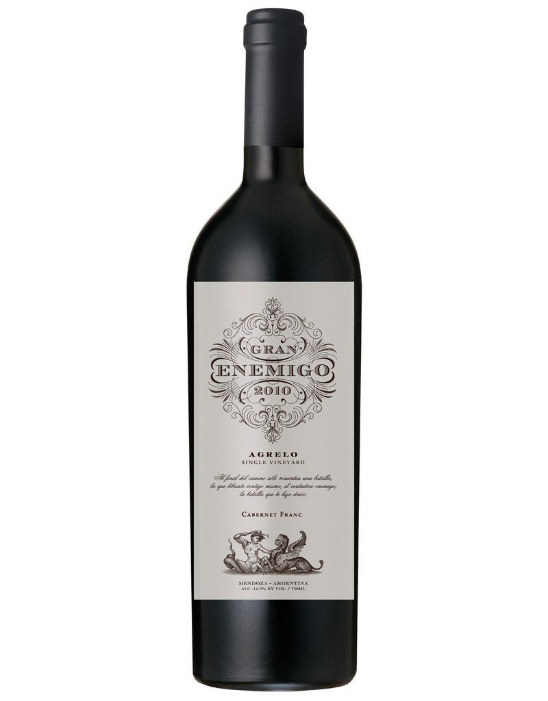 "Cabernet Franc ""Agrelo Single Vineyard"" Gran Enemigo, Mendoza, AR, 2010"