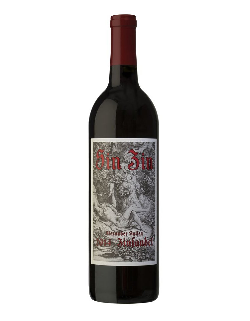 """Zinfandel """"Sin Zin"""", Alexander Valley Vineyards, CA, 2014"""