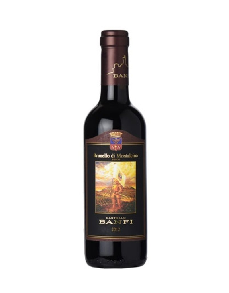 Brunello di Montalcino, Castello Banfi, Montalcino, IT, 2012 (375ml)