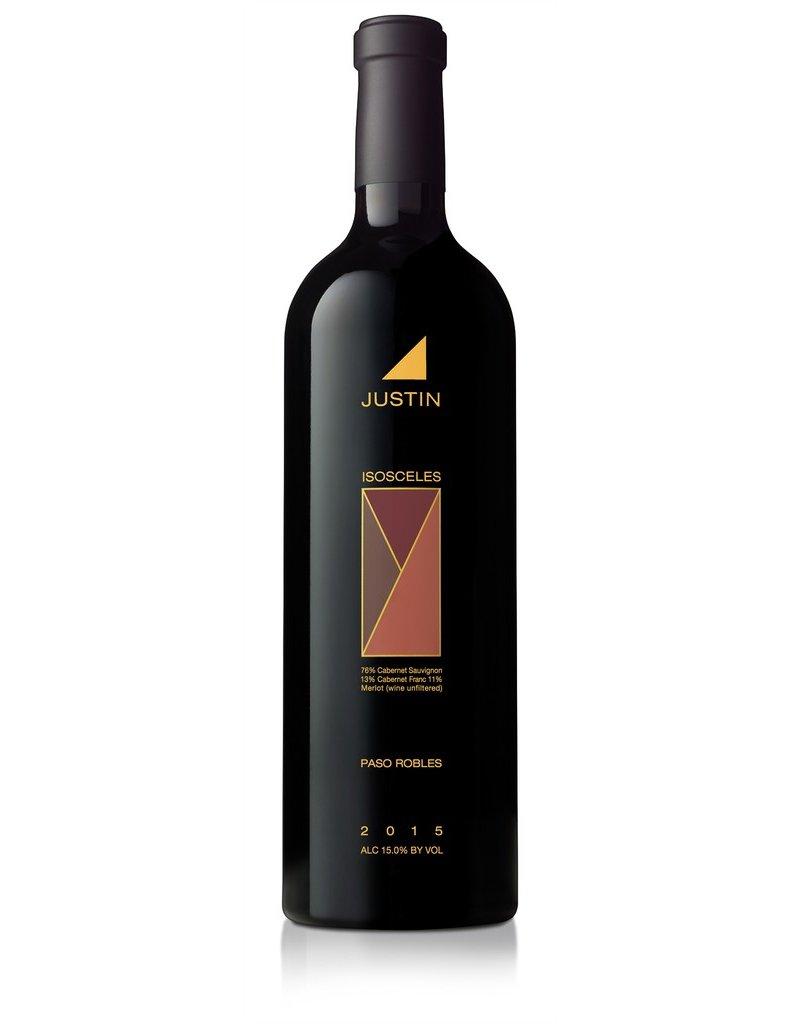 "Cabernet Sauvignon ""Isosceles"", Justin Vineyards, Paso Robles, CA, 2015"
