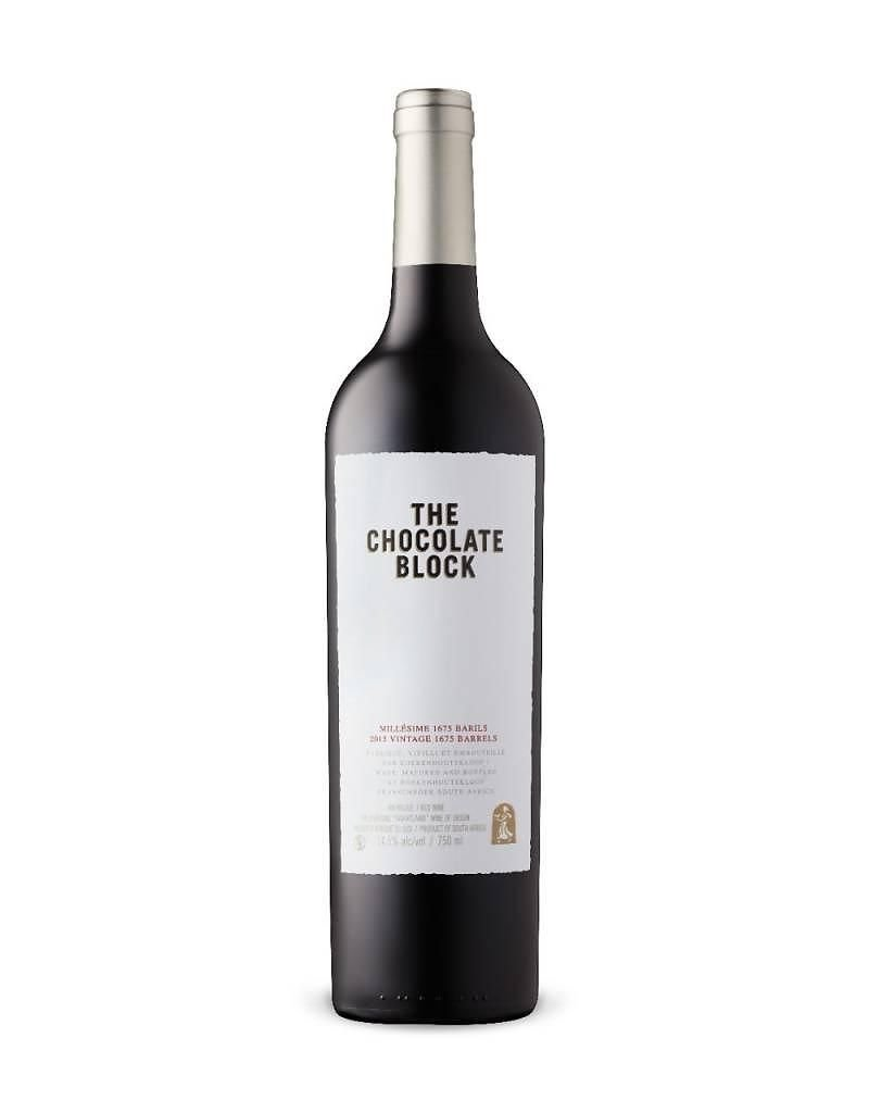 "Red Blend ""The Chocolate Block"" Boekenhoutskloof, Swartland, ZA, 2015"