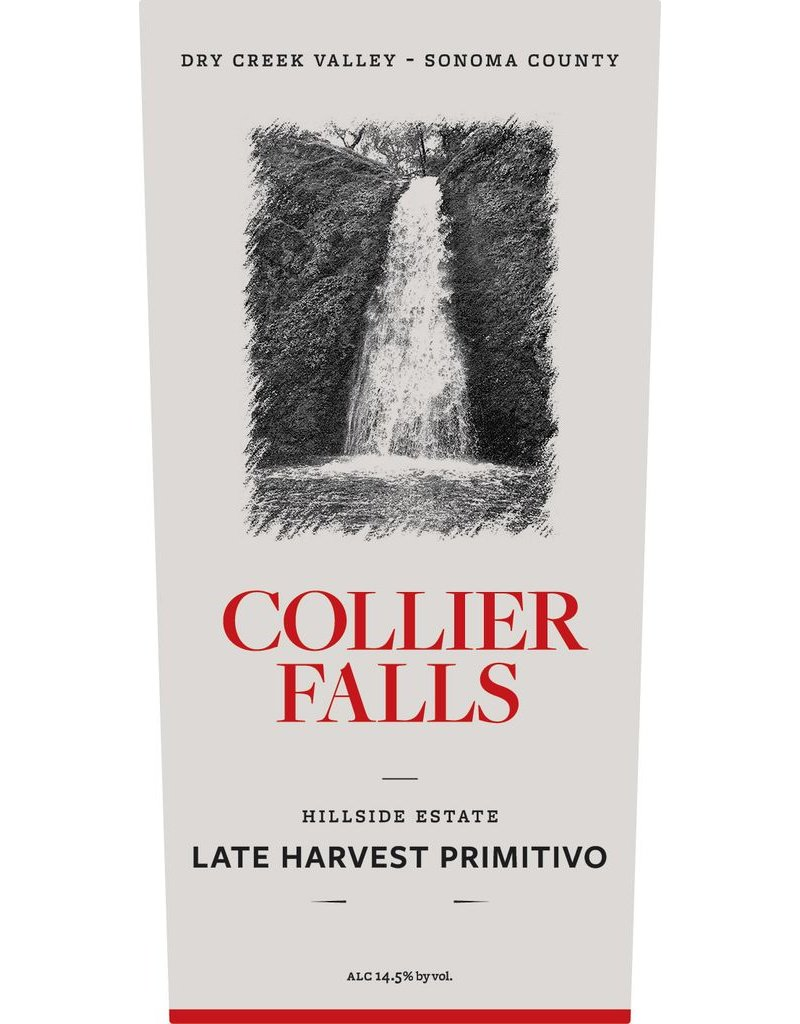 "Primitivo ""Late Harvest"", Collier Falls Vineyards, Dry Creek Vally, CA, 2011 (375ml)"