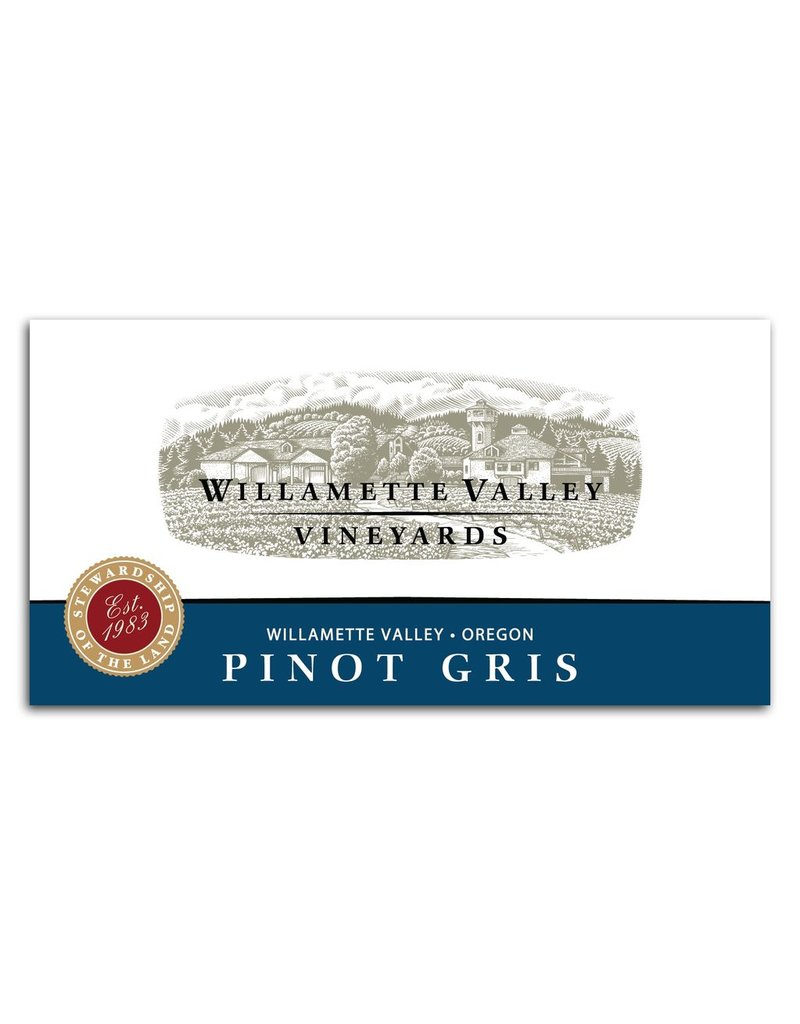 Pinot Gris, Willamette Valley Vineyards, Willamette, OR, 2016