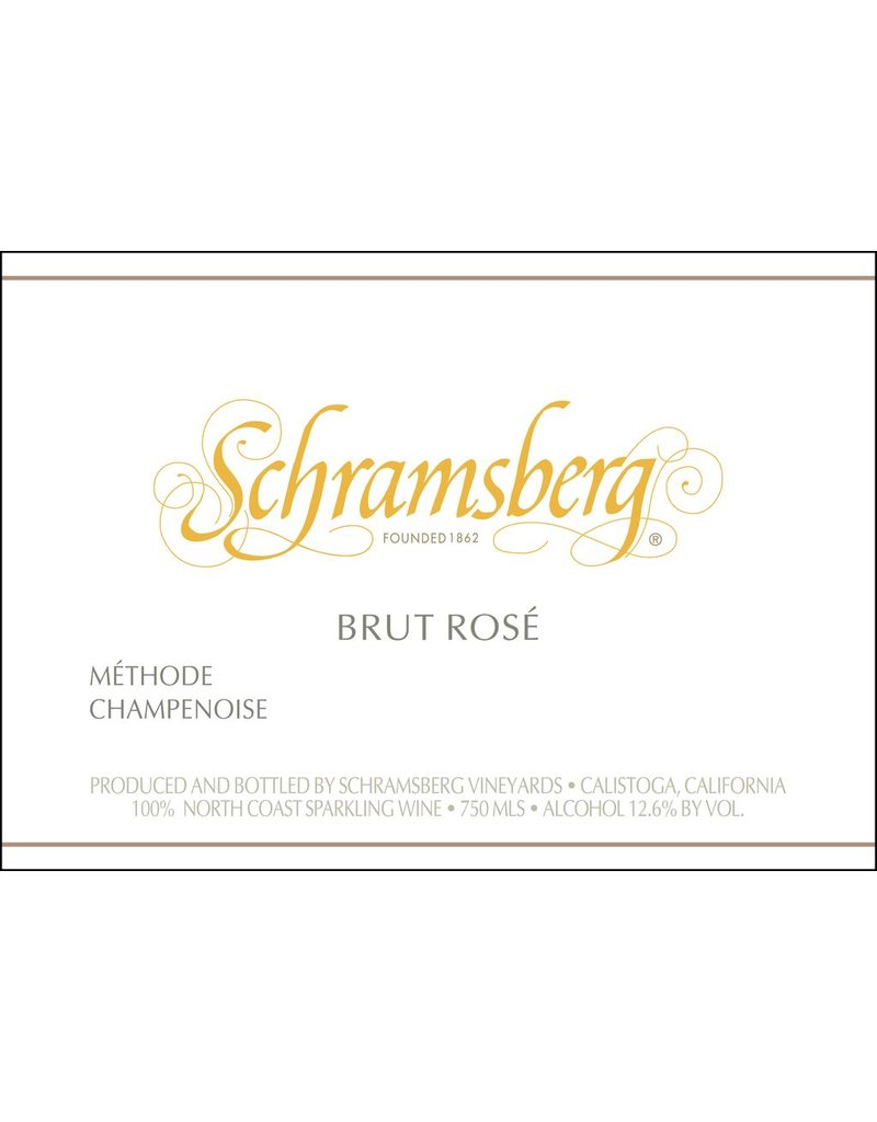 "Sparkling ""Brut Rose"", Schramsberg, North Coast, CA, 2014"