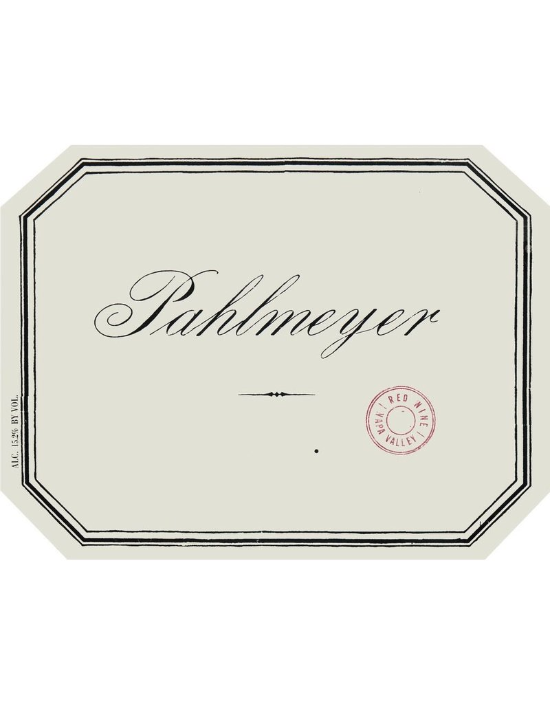 """Red Blend """"Proprietary Red"""", Pahlmeyer, Napa Valley, CA, 2014"""