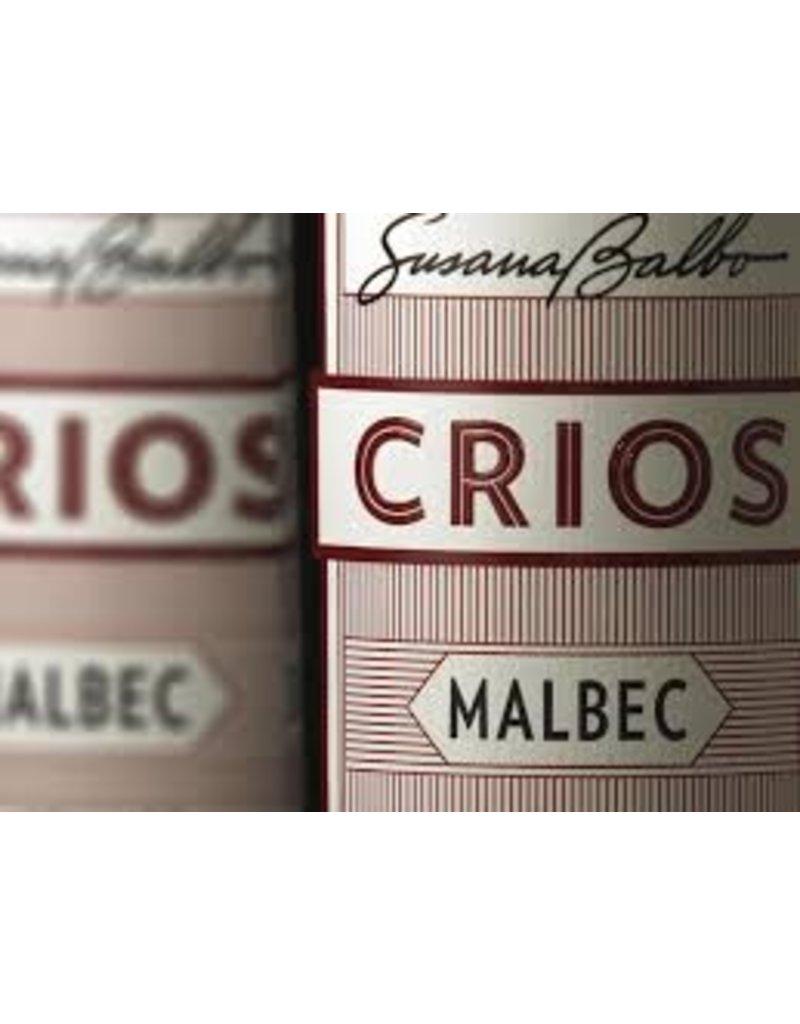 """Malbec """"Crios"""" Susana Balbo, Mendoza, AR, 2016"""