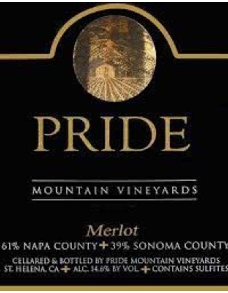 Merlot, Pride Mountain Vineyards, CA, 2015