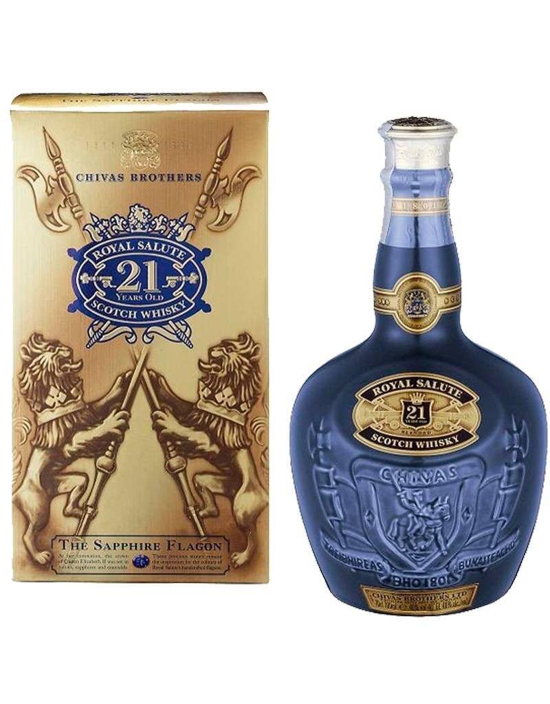 "Scotch, Chivas Regal ""Royal Salute"" 21 Yr 750ml"