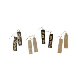 Long Rectangular Resin Dangles