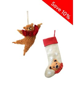 Bear Ornament & Stocking
