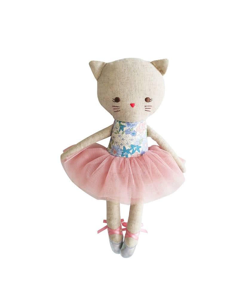 Odette Kitty Cat Ballerina Doll Liberty Blue