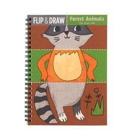 Flip and Draw Forest Animals