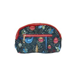 Cosmetic Bag: Watercolor Christmas