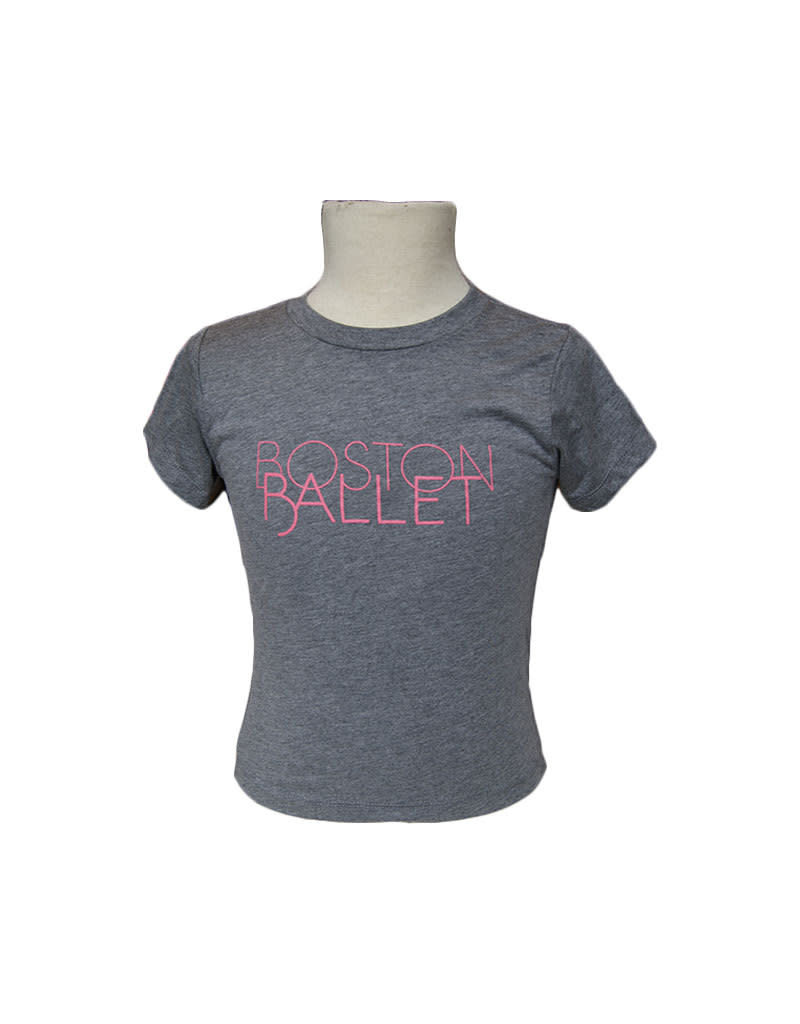 Boston Ballet Youth Tee Pink, SDP Pre-Order