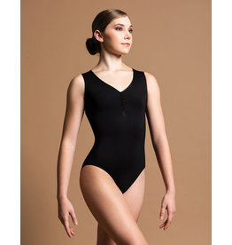 Motionwear Pinch Front Diamond Back Tank Leotard, SDP Pre-Order