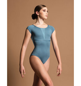 Motionwear Boatneck Cap Sleeve Seamed Leotard, SDP Pre-Order