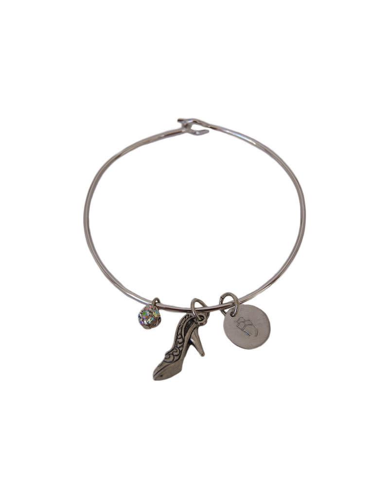 Cinderella Bangle Bracelet