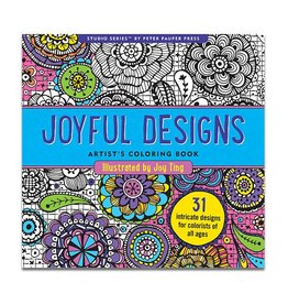 Joyful Designs Coloring Book