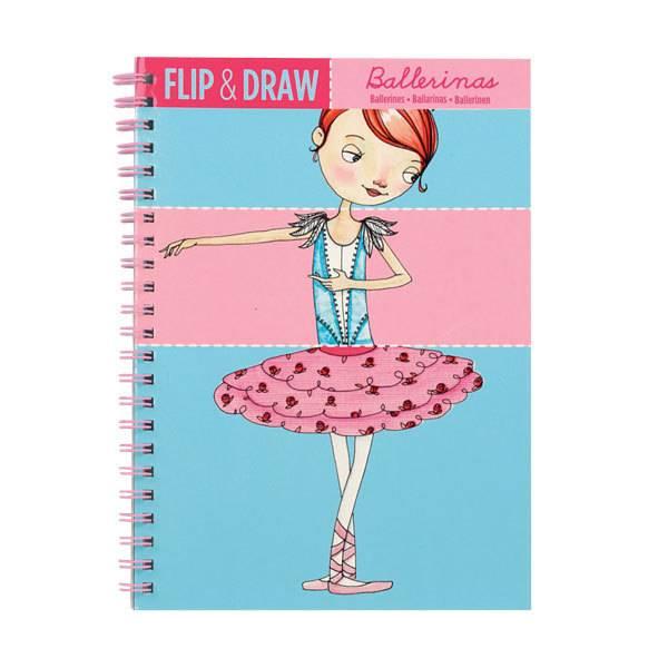 Flip and Draw Ballerinas