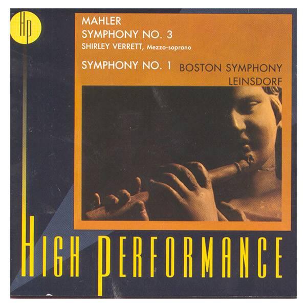 Mahler Symphony No. 3 CD