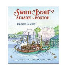 Swan Boat Season in Boston