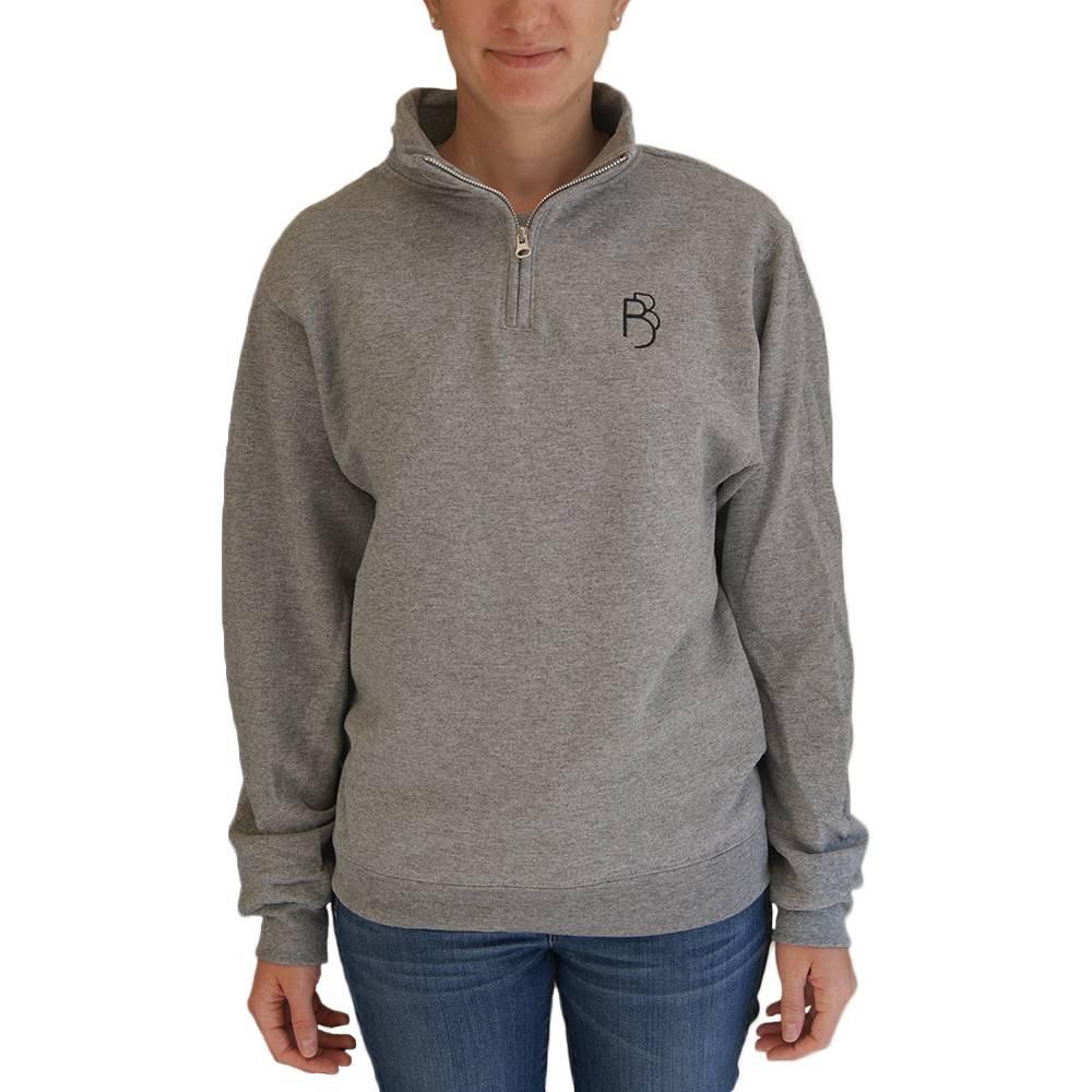 1/4 Zip Sweatshirt Adult