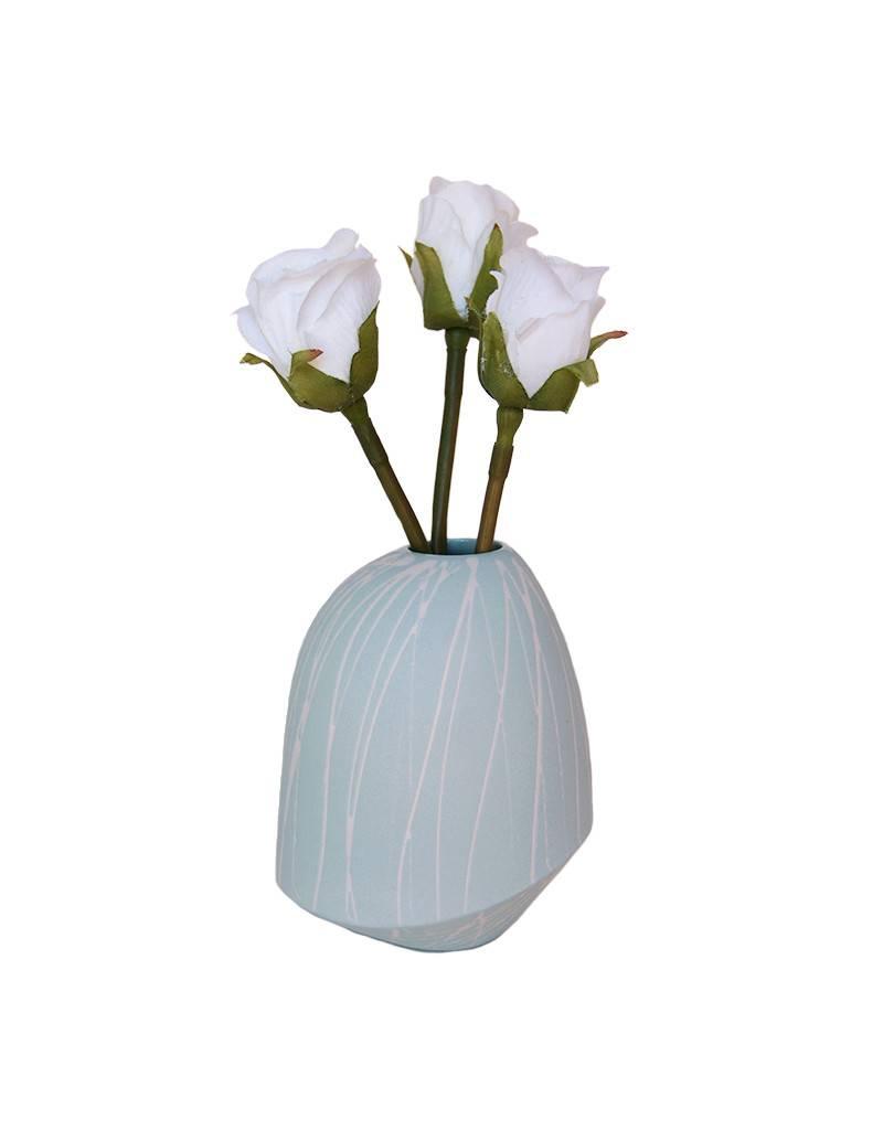 Splatter Birdie Vase