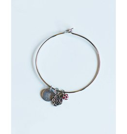 Romeo & Juliet Bangle Bracelet