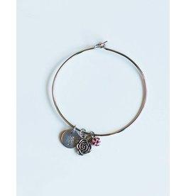 Romeo & Juliet Bangle Bracelet