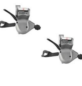 Shimano levier vitesse hybride Tiagra paire SHIFT LEVER SET, SL-4600, TIAGRA FOR FHB ROAD, 2X10-SPEED, W/ OGD, BLACK OUTER(1800/1200MM), ADD 6MM SEALEDCAP X2, IND.PACK