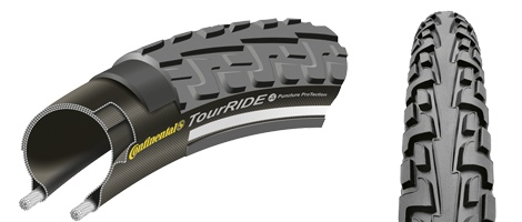 Continental pneu Continental Tour Ride 700X 28