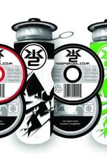 vlmn Bouteille thermique K2K noir-rouge ou verte