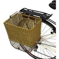 Panier axiom city wicker marron clair rotin