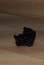 Barillet de selle Noir