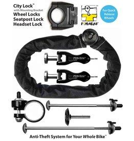 Pin Head cadenas PINHEAD 5 PACK WITH CITY LOCK