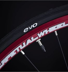 Perpetual wheel Roue PPW paire 20-24T 700c rouge