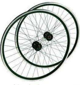 roue AVANT Double parois 700c damco argent/noir QR